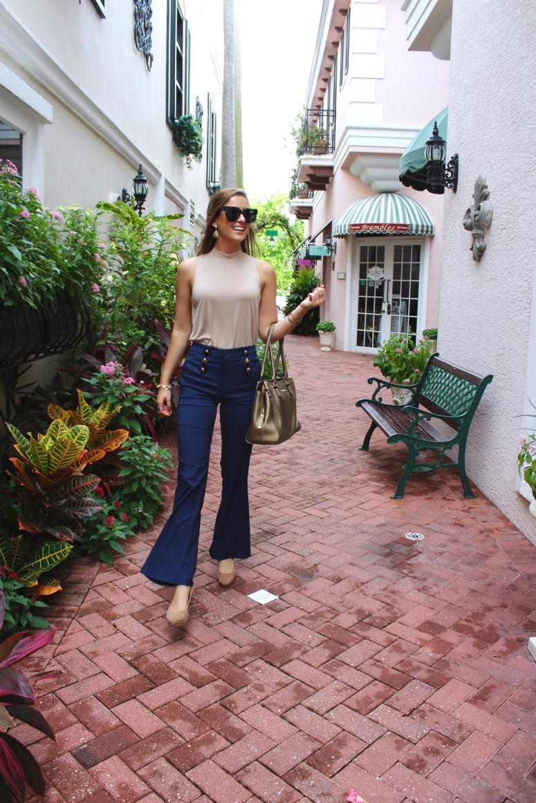Gold Button Flares