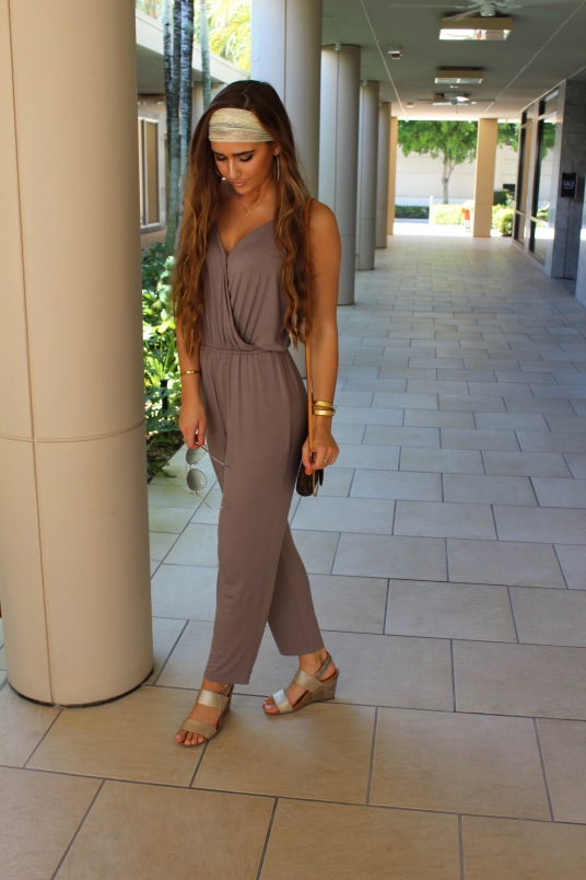 Taupe Jumpsuit 1